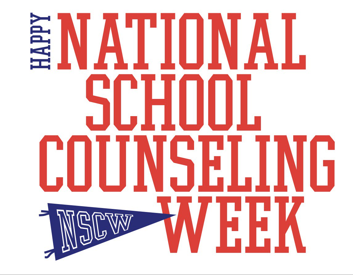 Happy National School Counseling Week! This week we celebrate the dedicated school counseling professionals that are devoted to student success. Show us your support for #Schoolcounselors by joining the #NSCW18 photo/video challenge. http://www.schoolcounselor.org/nscw