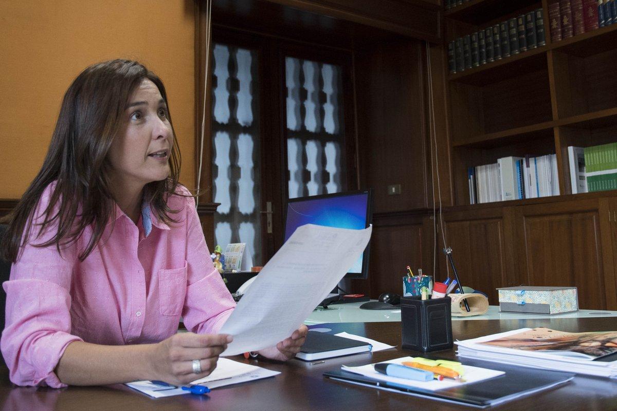 """Mónica Martín: """"Somos un municipio referente en Canarias en cuanto a Medio Ambiente"""""""
