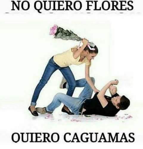 #EsDeLey que  unas no quieren  flores? h...