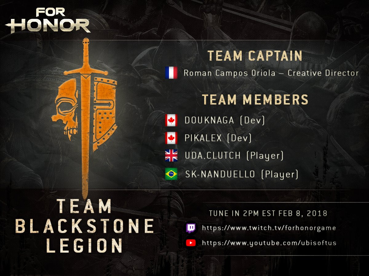 Team Blackstone Legion