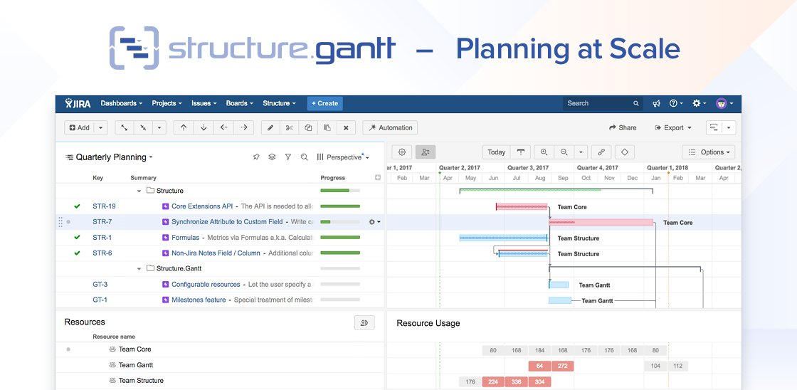 Alm Works On Twitter Introducing Gantt Chart Planning At Scale For