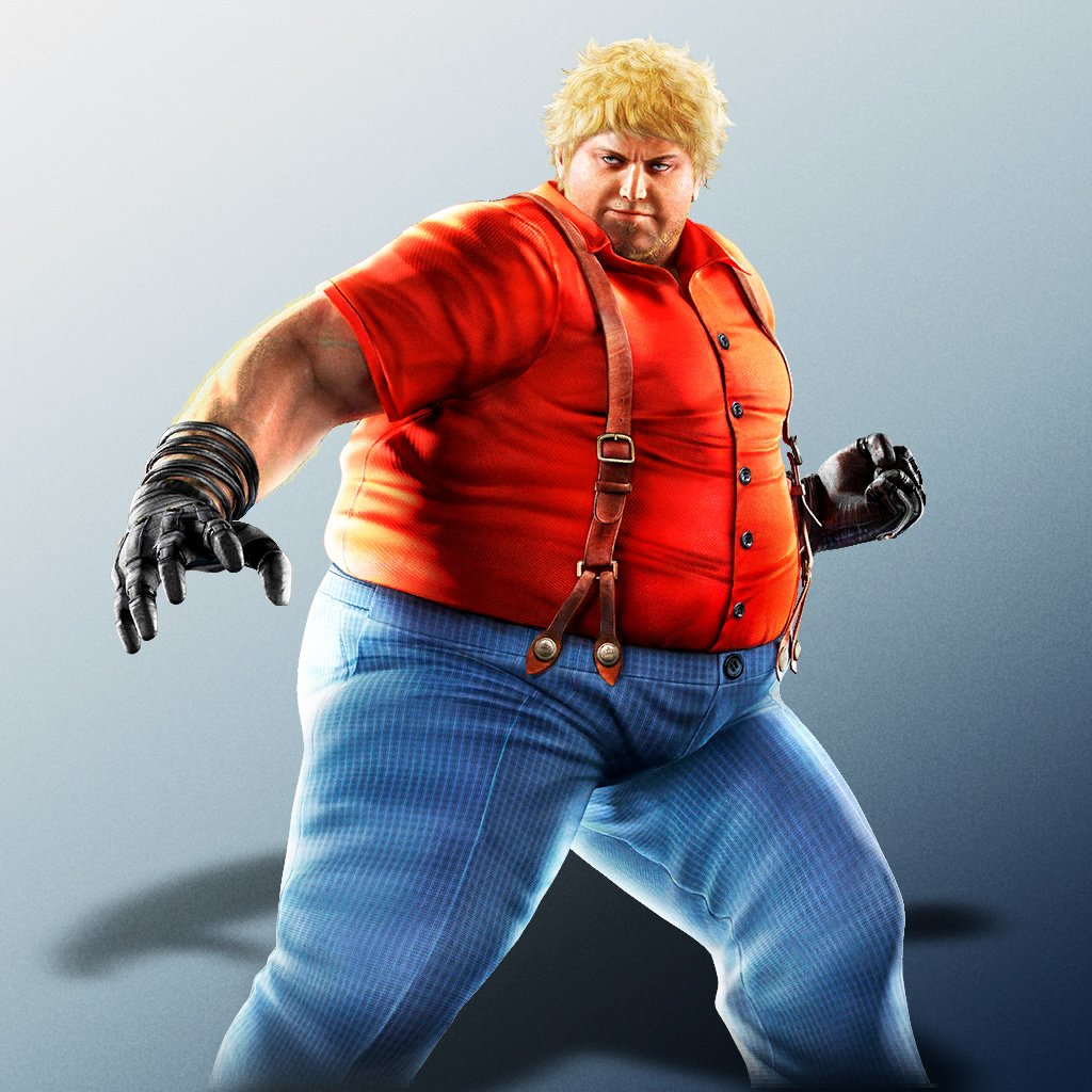 Yellowmotion On Twitter These Are All The New Artwork Renders Of Bob Robert Richards From Tekken Mobile Even Though Bob Never Made It To The Tk7 Tournament He Sure Did