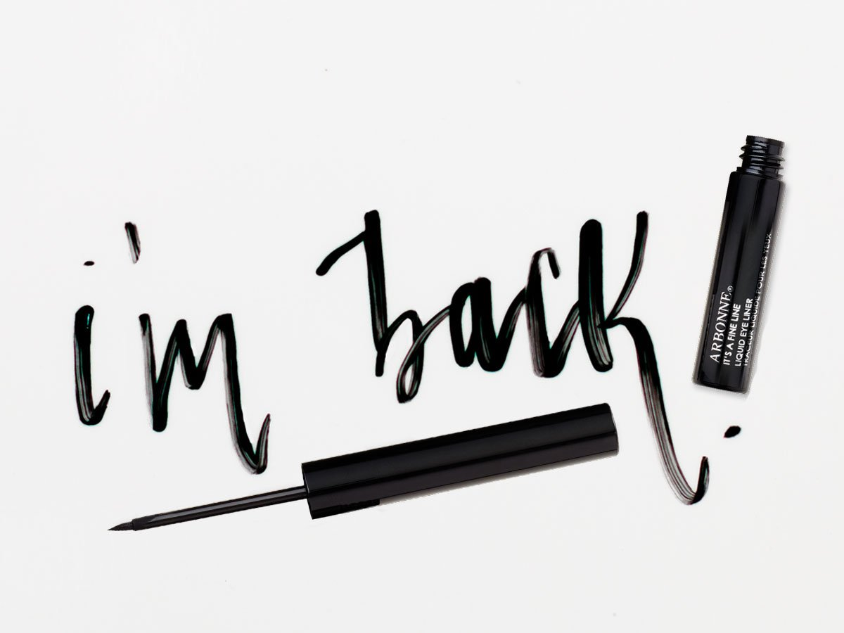bb972462115 The sexy, sophisticated It's A Fine Line Liquid Eyeliner is here to make  all your cat-eye looks come true. http://bit.ly/2GRfhxC #Arbonne  #ArbonneMakeup ...