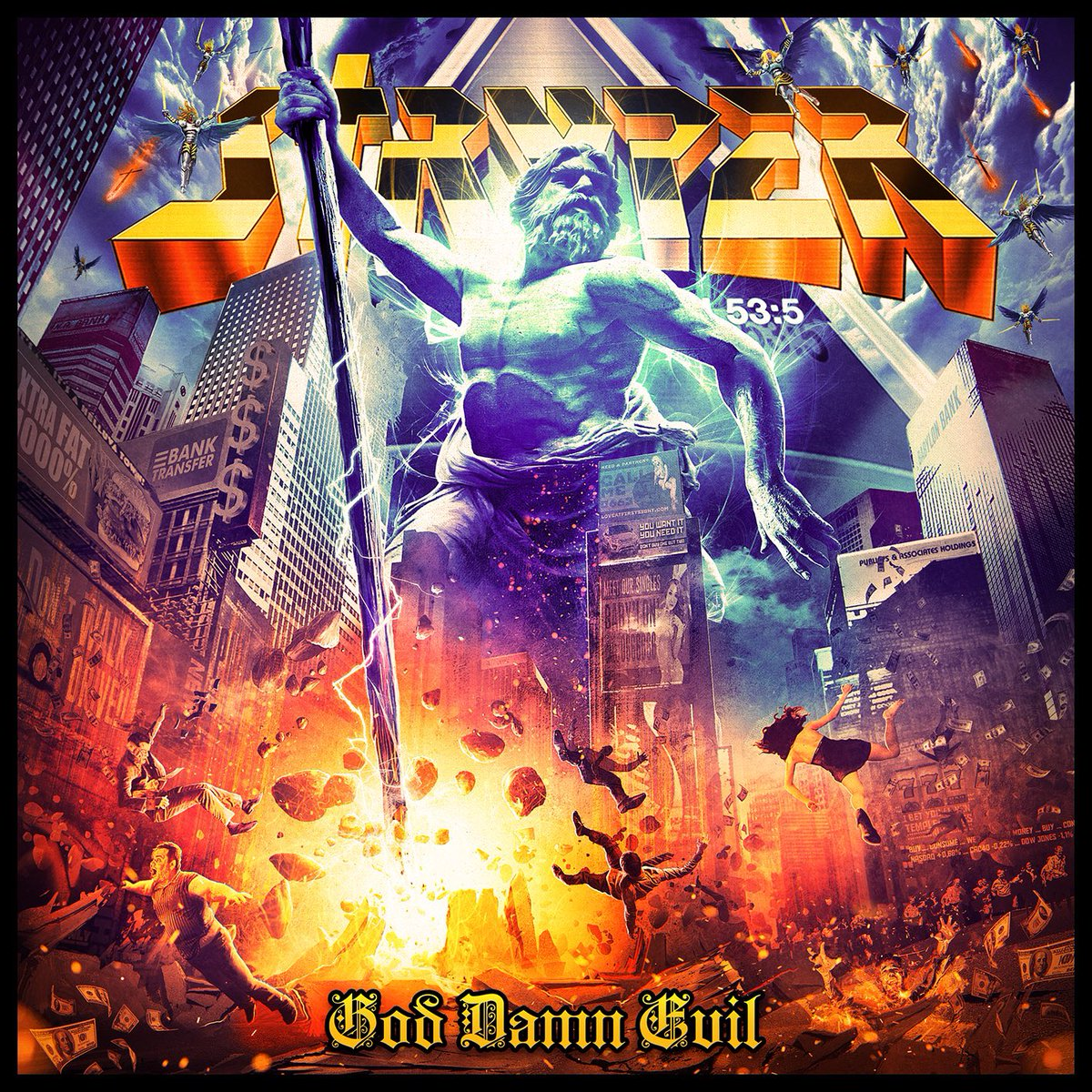 Image result for stryper god damn evil