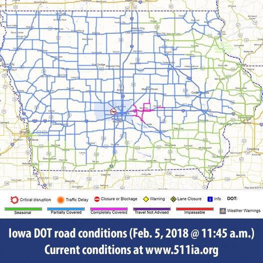 Statewide Iowa 511 on Twitter: