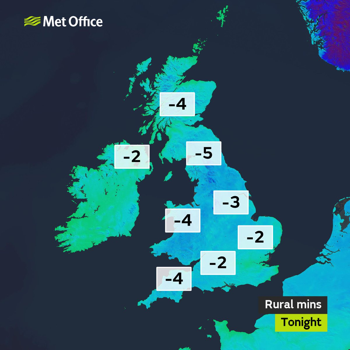 It's going to be a #cold one tonight with a severe #frost in places, so whatever you're doing stay warm