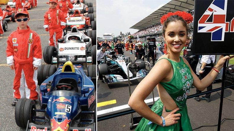 Formule 1 🏁 : les #hôtesses seront finalement remplacées par... des #enfants ➡️ https://t.co/Rx1f8zBS1a