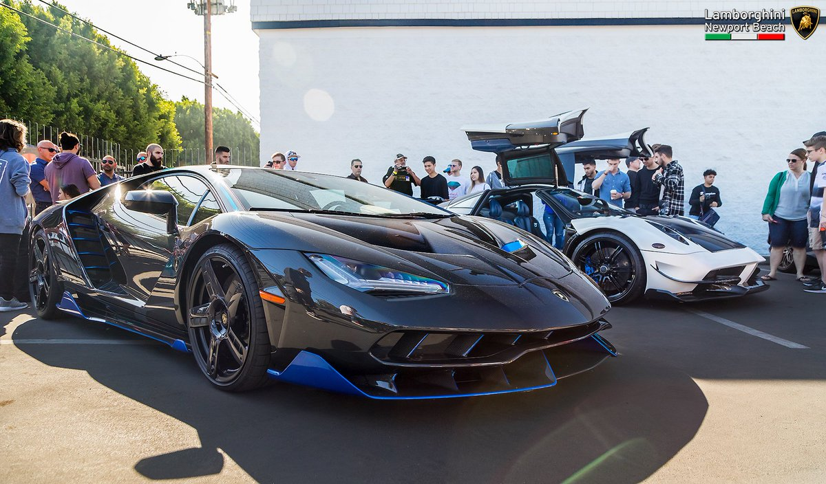 Lambo Newport Beach On Twitter The Legendary Carbon Fiber Blu - Lamborghini newport beach car show 2018