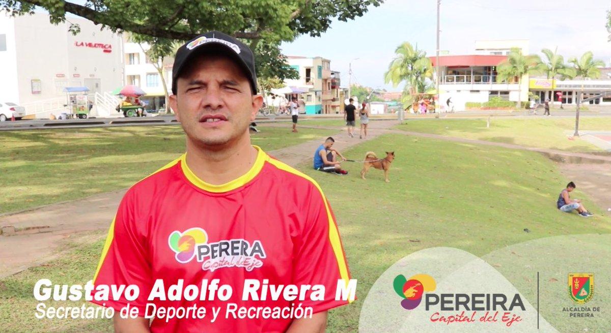"""Deporte Pereira على تويتر: """"Conoce nuestra Secretaría: Gustavo Rivera es el  responsable de nuestra cartera, es él quien tiene la misión direccionar y  liderar la política pública """"Pereira Activa, Saludable e Incluyente"""""""