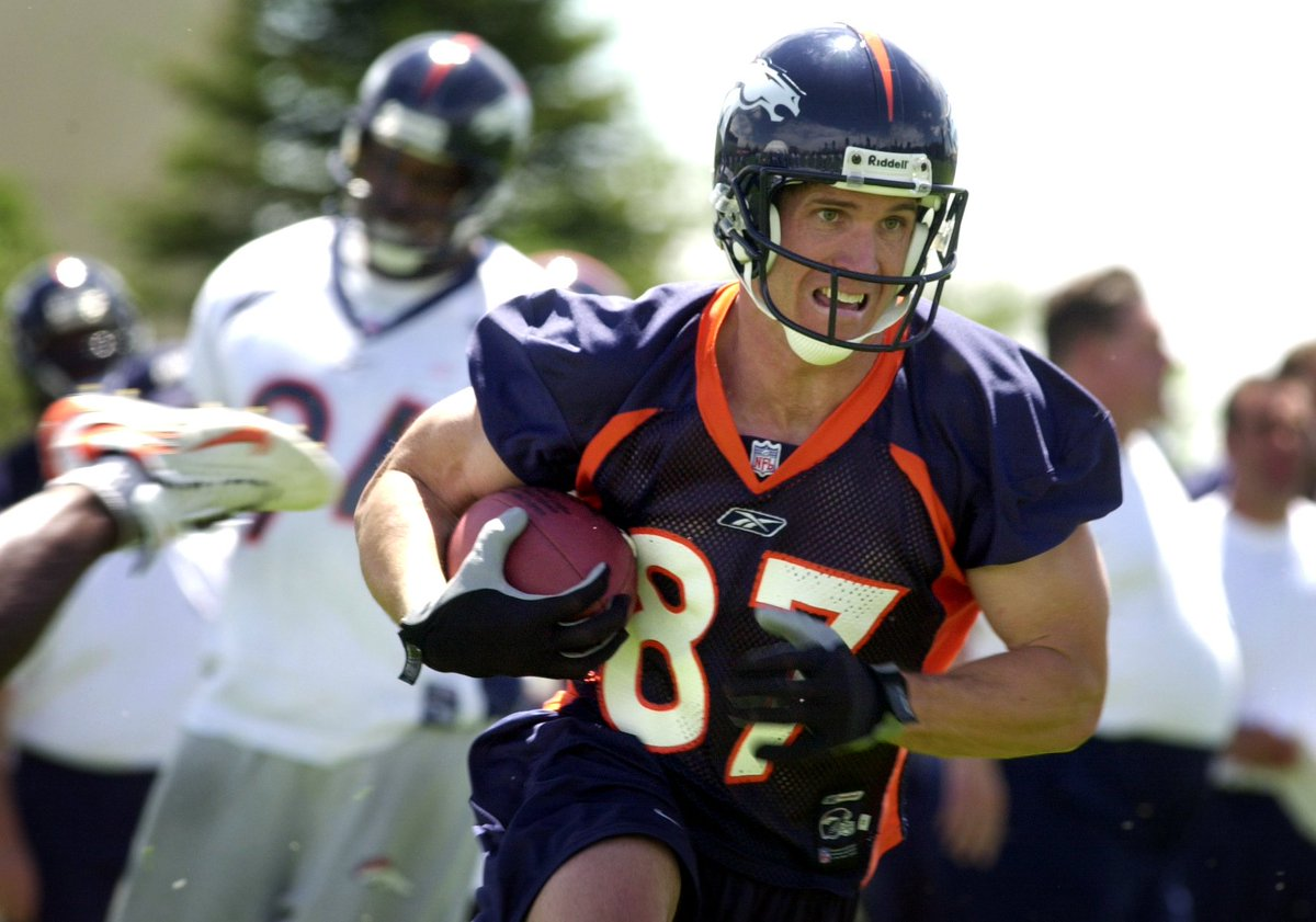 Denver  great Ed McCaffrey is returning to the field... to be the new head football coach at Valor Christian High School!