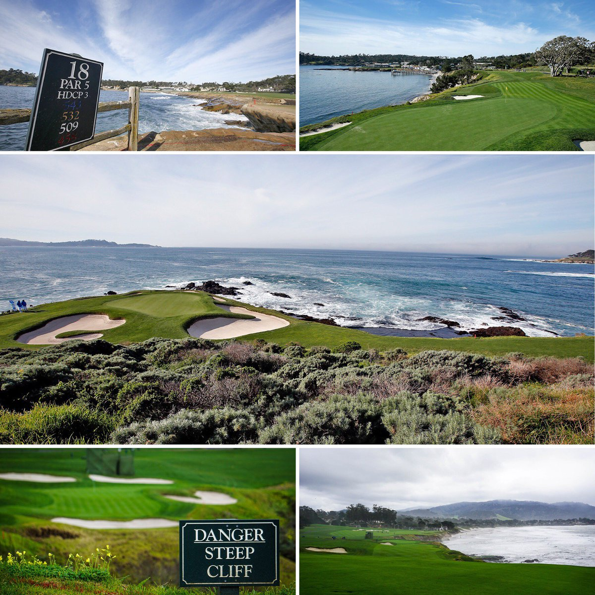 Pebble Beach  Results Pga Tour