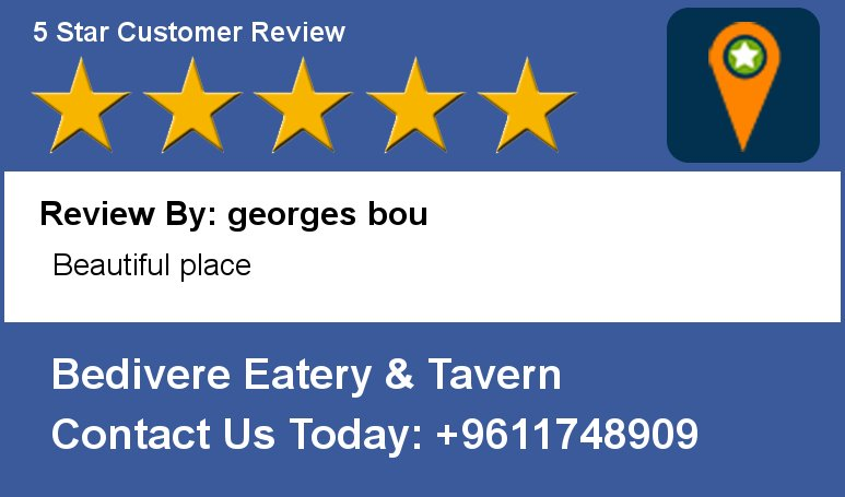 Review By: georges bou Beautiful place https://t.co/x3dPetynyU