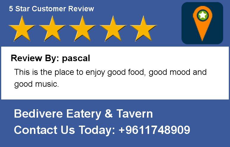 Review By: pascal This is the place to enjoy good food, good mood and good music. https://t.co/s3ddHn6edN
