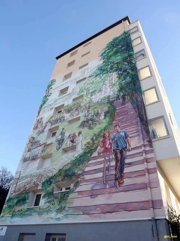 Lyon rhône fresqu de citécréation dans la cité des vallonnière ici https goo gl kcy3gm pic twitter com ytcw6kp01c