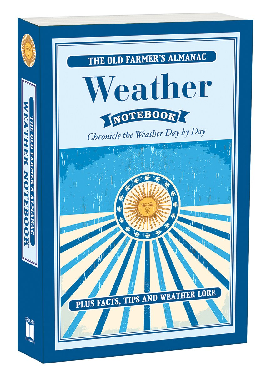 Happy #NationalWeatherpersonsDay! Log the weather in your area in this 4 year, The Old Farmer's Almanac: Weather Notebook SKU BTM-4631 $14.95 ©Sellers Publishing, Inc. rsvp.com/product/old-fa… #Weather #weatherauthority #OldFarmersAlmanac #weathertech #books #WeatherMan #OFA