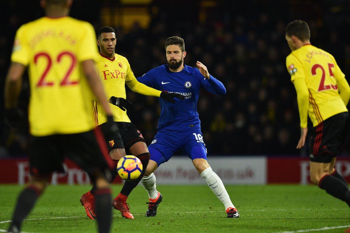 Chấm điểm kết quả Watford 4-1 Chelsea