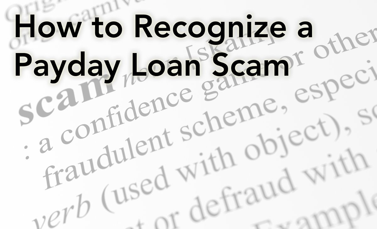 applying for a payday loan