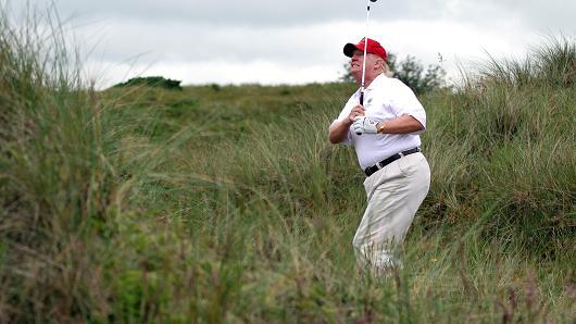 So golfing everyday doesnt make the Dow Jones go up? #StockMarket