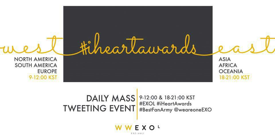 �� Mass Vote Starts ��  #EXOL #BestFanArmy #iHeartAwards @weareoneEXO BUNNY PRINCE https://t.co/kf5SSZzNKe