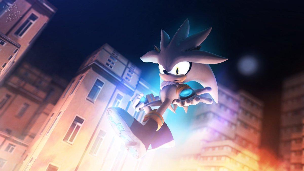 Shardan Auf Twitter Silver Wallpaper From Sonic The Hedgehog