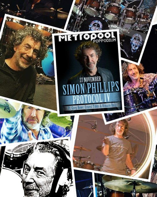Happy birthday to the best, absolutely the best: SIMON PHILLIPS.... HAPPY BIRTHDAY