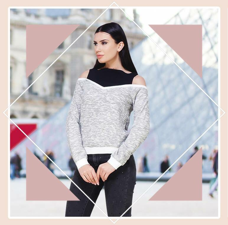 Chic and oh-so-comfy, get this Grey Shimmer Cold Shoulder Top at http://www.sexyandbroke.com  #Breezy #Evening #Casual #Top #Shimmer #Shine #ColdShoulder #WinterCollection #OOTD #SexyandBroke #OnlineShopping #ShopNow #LatestTrending #CelebStyle #KareenaKapoorKhan #PeedikaPadukone