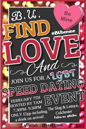 Speed Dating Colchester Slug And Lettuce