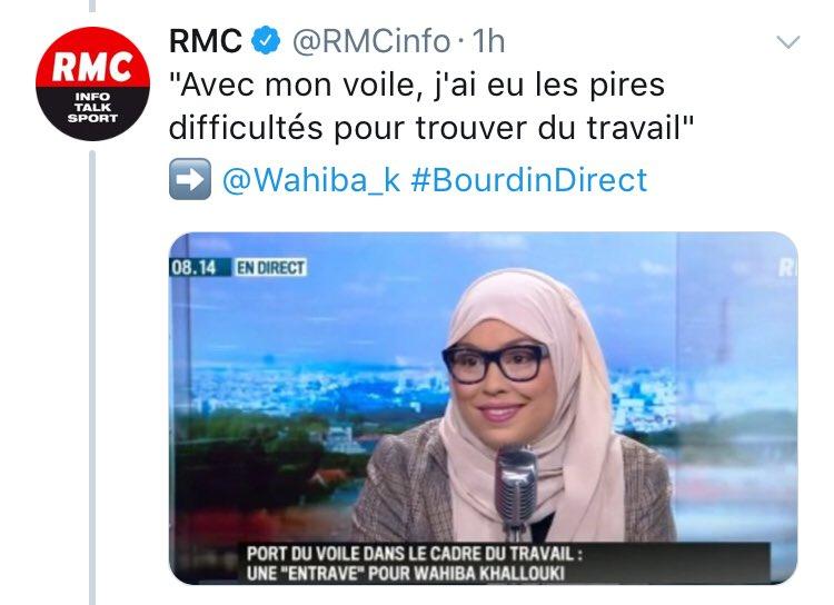 Ce serait intéressant qu'elle dise cela face aux Iraniennes ou aux saoudiennes qui se battent pour ne pas le porter...Pourquoi ne pas tenter ses recherches dans un pays musulman plutôt que de se plaindre de la France et de nous infliger son prosélytisme,  et sa propagande