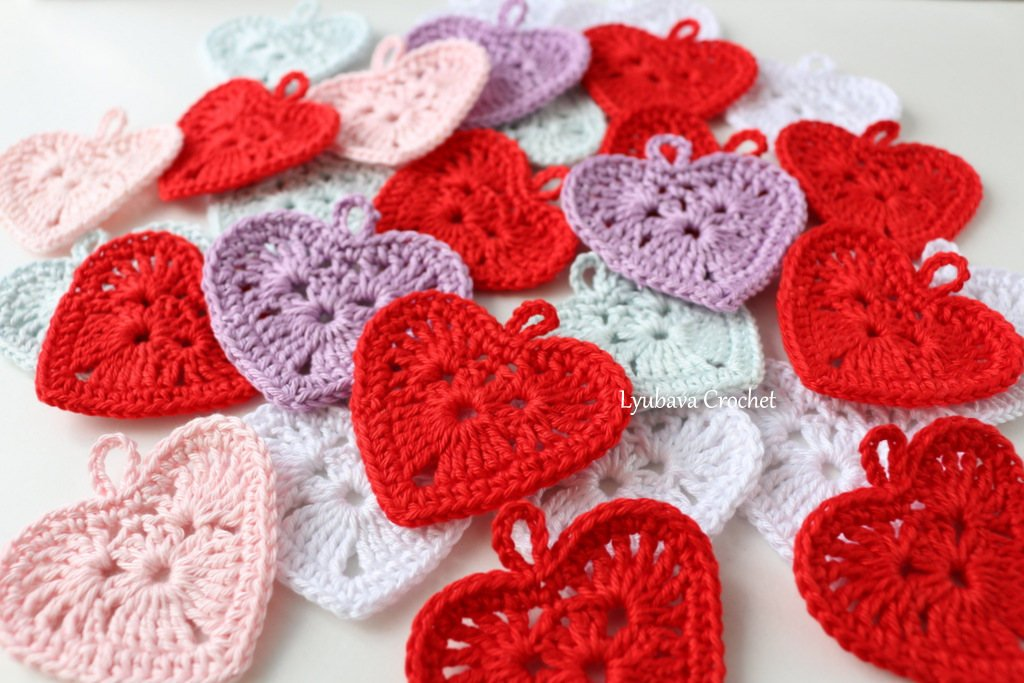 Crochet everyday heart