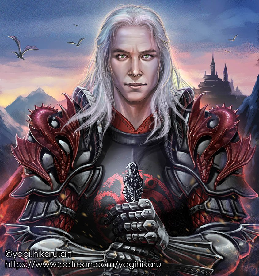Yagi Hikaru Aka Zloj Bulochka Ainerien On Twitter Wilfscolding As Rhaegar Targaryen From Hbo Show But With My Design Of Armor Like If He Was Game Character Rhaegartargaryen Targaryen Gameofthrones Iceandfire The hound was injured and he had a fever, while brienne was in full plate armour and she had a valyrian steel sword. yagi hikaru aka zloj bulochka ainerien