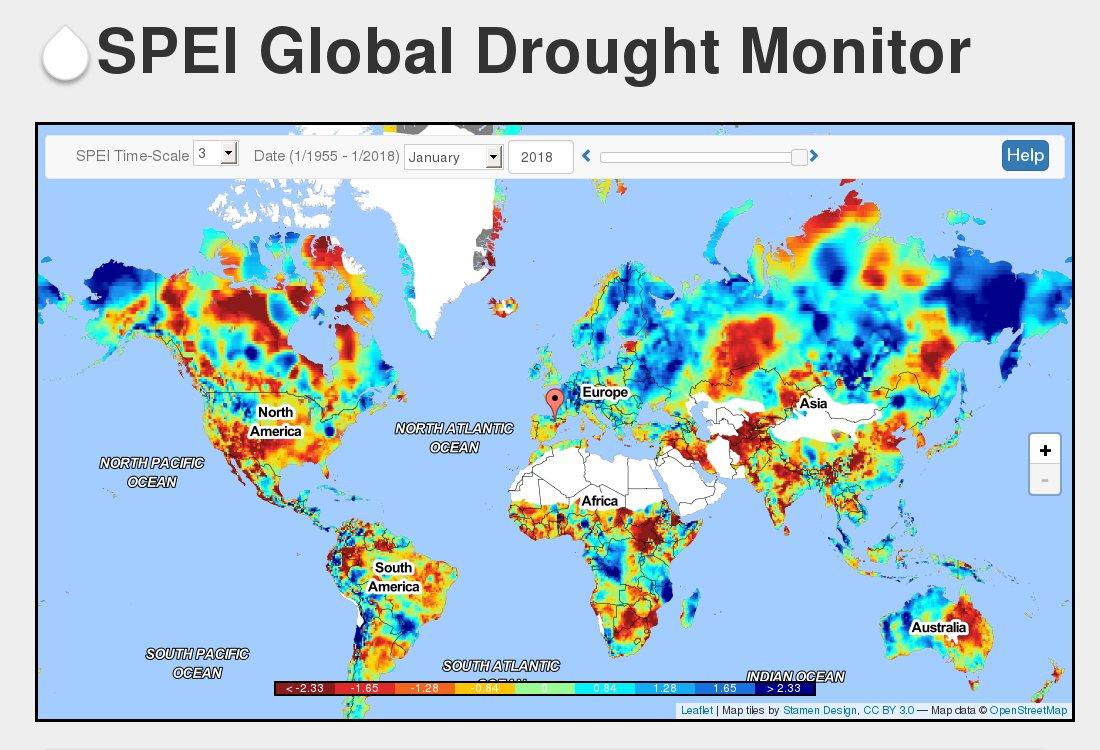 SPEI Drought Monitor (@DroughtSPEI) | Twitter