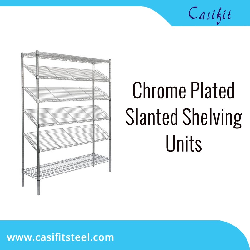Create The Perfect Display For Customers Or Allow Easy Access To Product Using Slanted Shelving Units Visit Https Goo Gl Ooazsf And Get More Details
