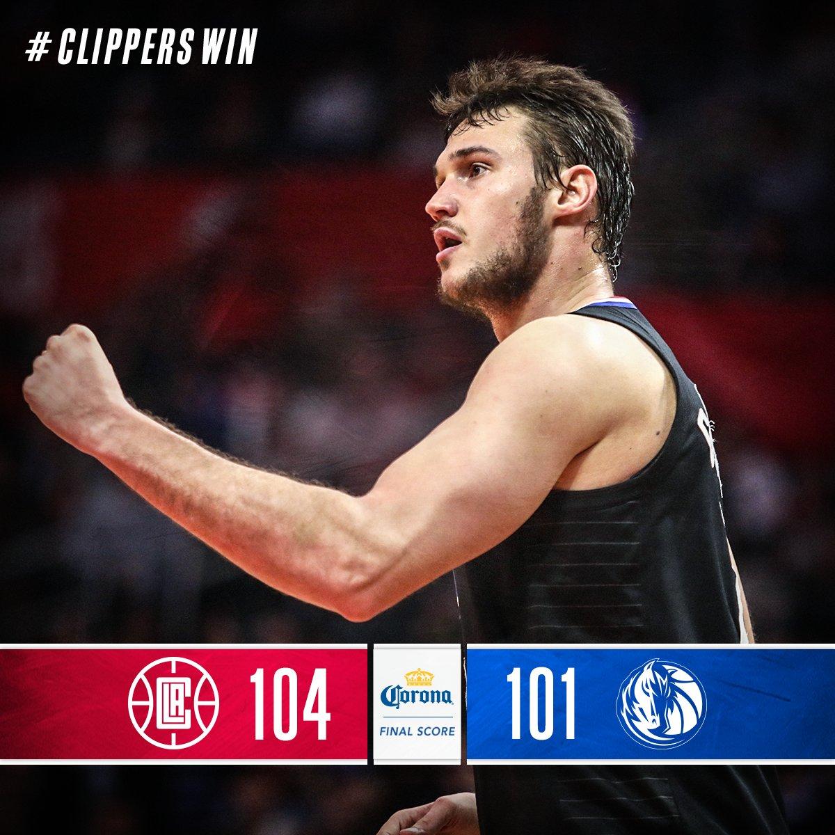 La Clippers Vs Dallas Mavericks 2 5 18