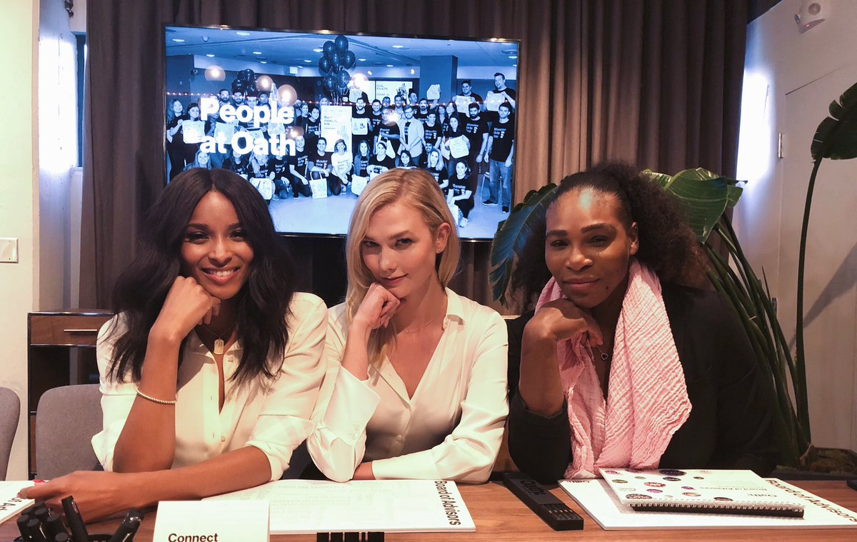 Boss ladies in the board room @ciara @se...