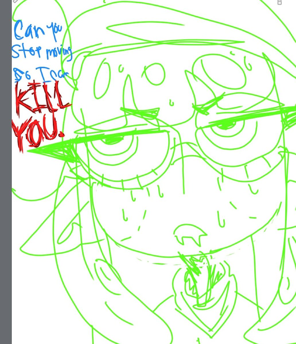 I suck atatata digital art so I Doodle on my phone: ^) because I'm a roke ish #digitalart #squidsona #splatoon2 #oc #squidoc #medibangpic.twitter.com/isvZ0Y08ab