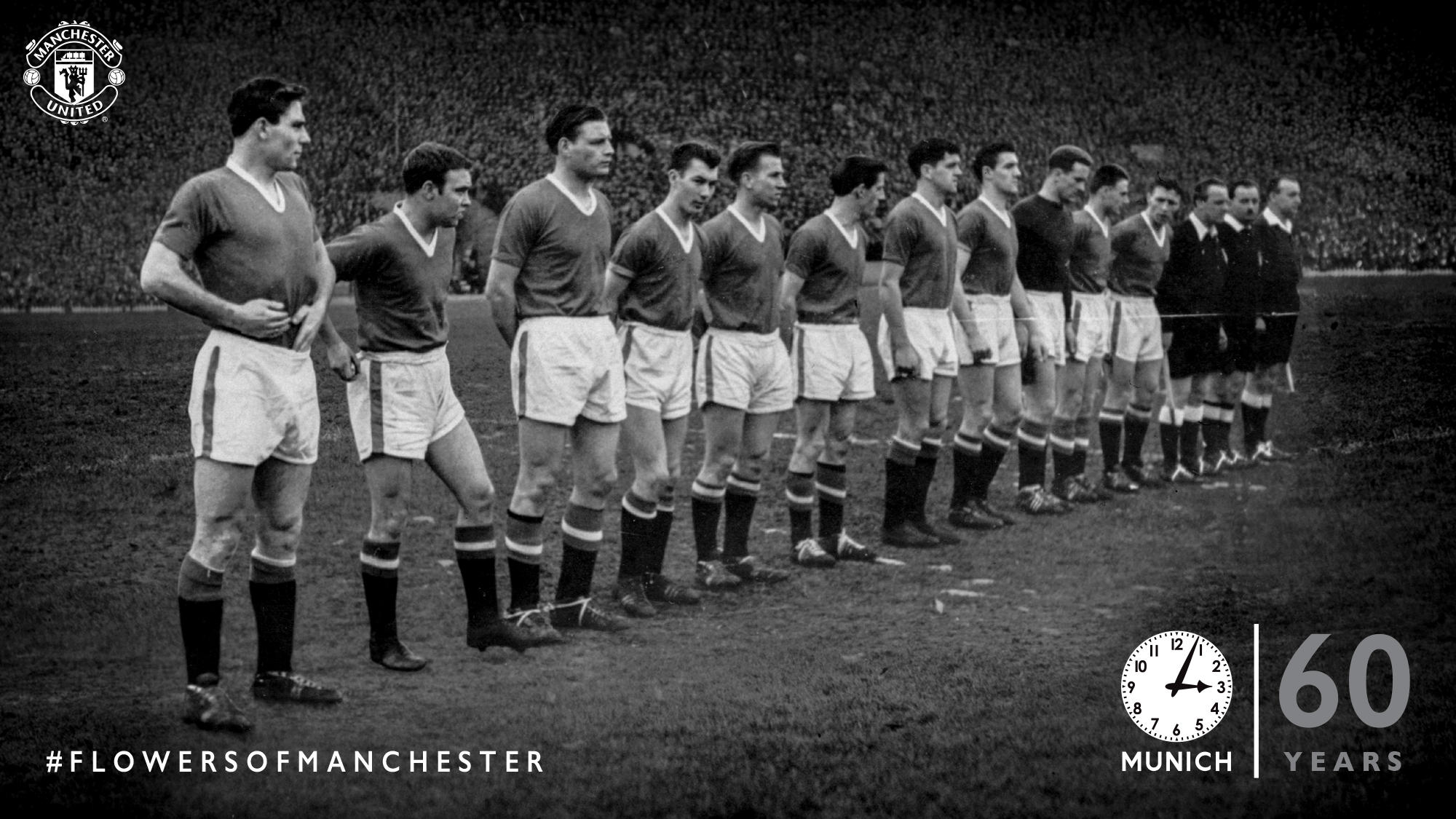 RT @ManUtd: We will never forget. #FlowersOfManchester https://t.co/YAC0Lmqq2W
