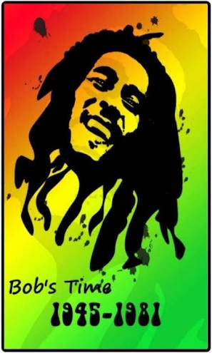 Happy Birthday Bob Marley. Its always important to celebrate one\s life and achievements and not mourn.