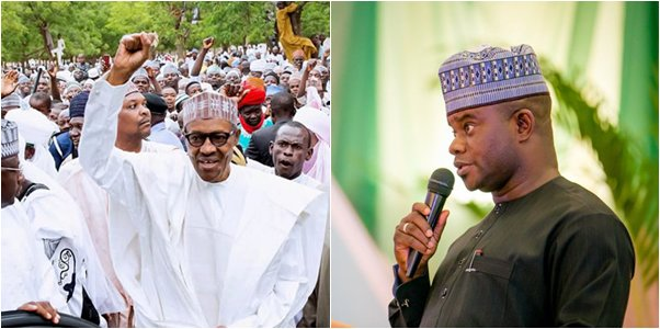Image result for yahaya bello and buhari
