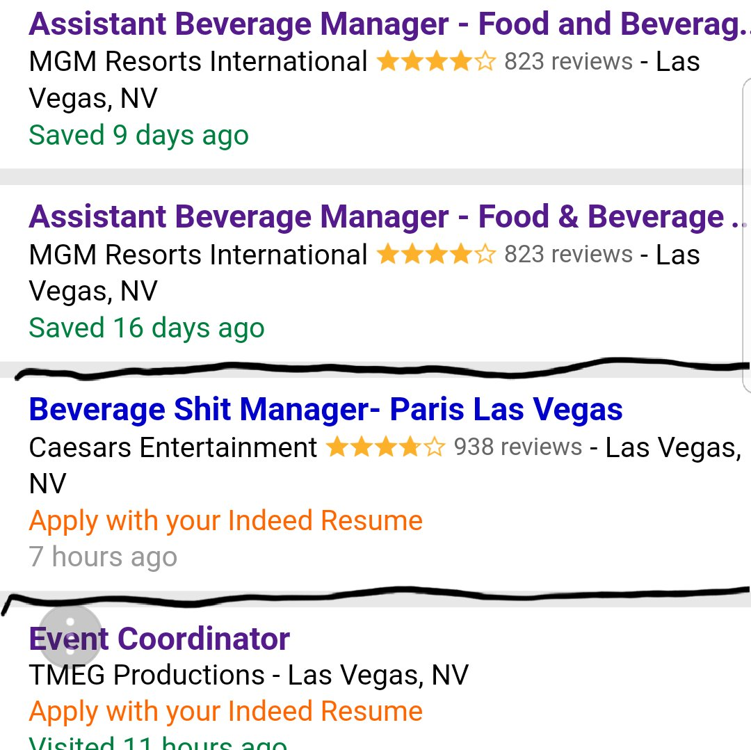 Delighted Indeed Resumes Las Vegas Ideas - Entry Level Resume ...