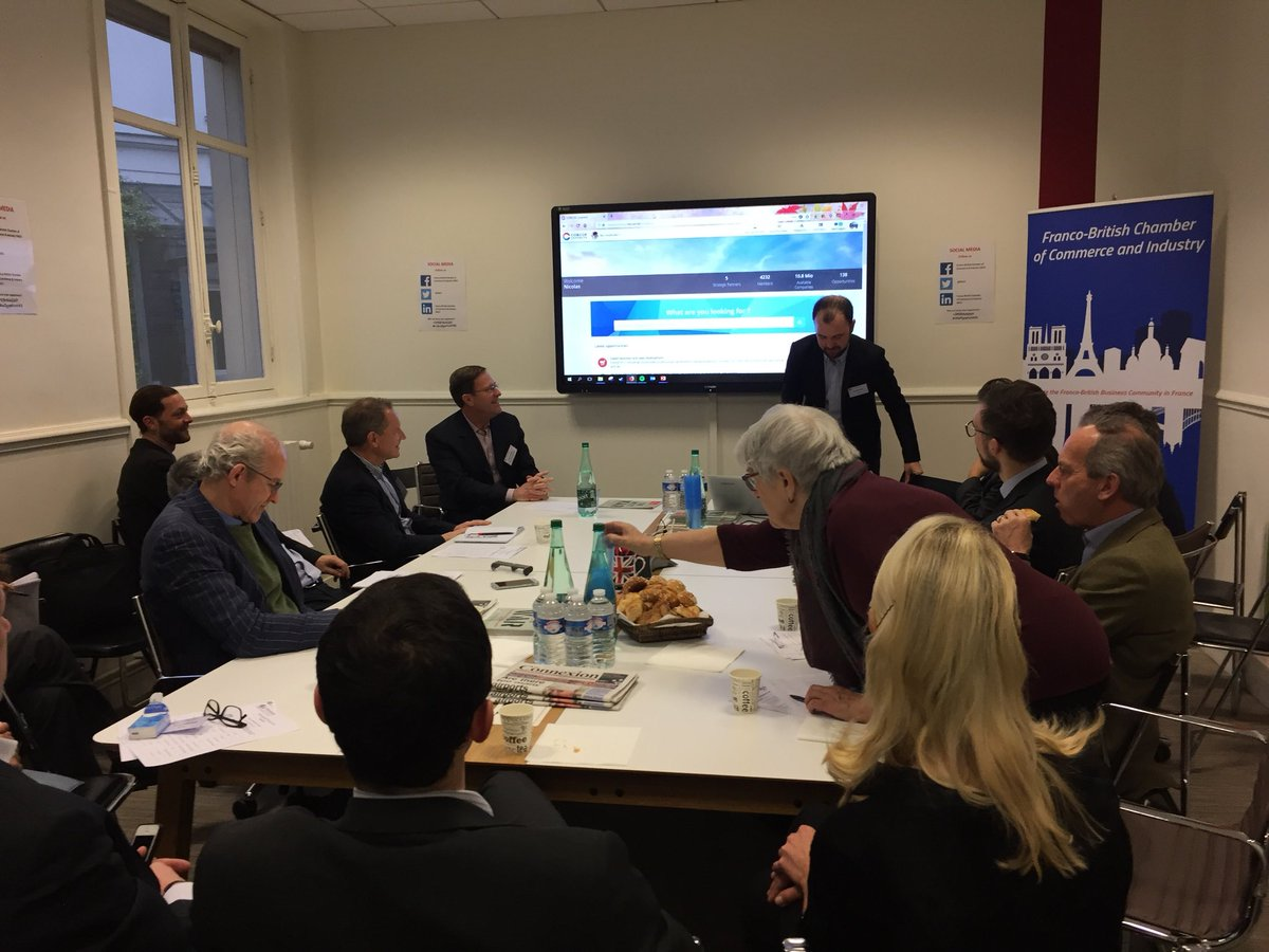 This morning #smebreakfast presentation of platform #cobcoeconnect to assist members to get #newopportunities. Join us now on live on Facebook francobritishchamber @fbcci @FBCCIPresident #francobritishchamber @TiaoWorld <br>http://pic.twitter.com/5cYK6cNZE9