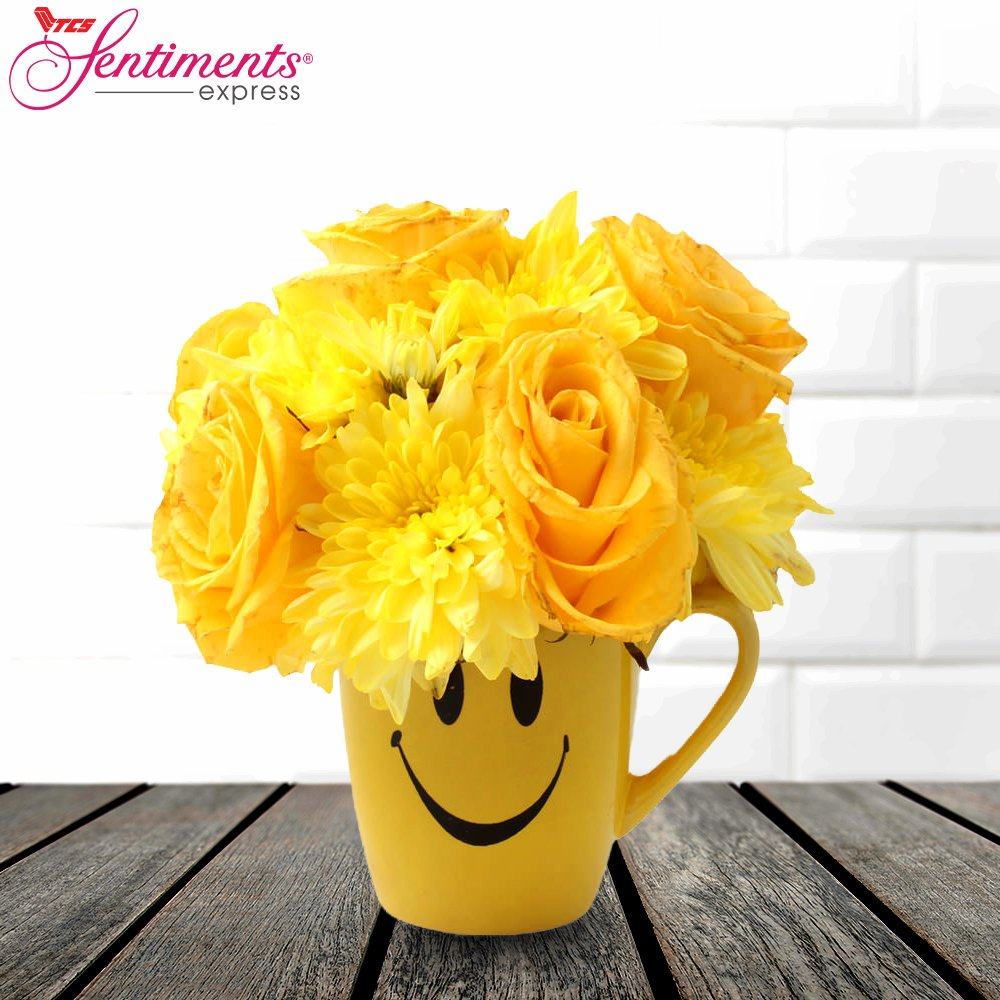 Sentiments express on twitter bright yellow flowers represent sentiments express on twitter bright yellow flowers represent friendship and good vibes so celebrate friendship by surprising a dear friend mightylinksfo