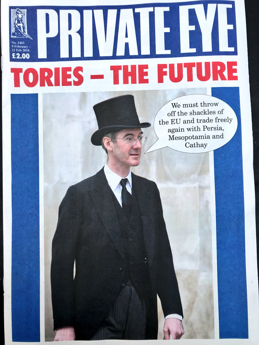 Private Eye on our novelty act politician