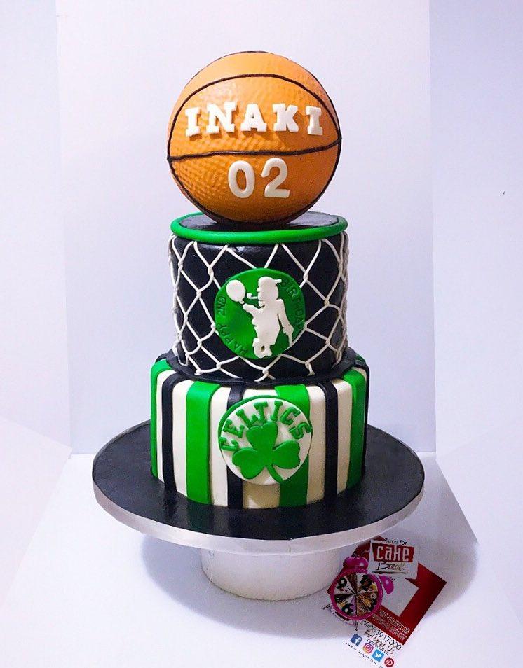 Boston Celtics Themed Cake For 2 Year Old Fan Happy Birthday