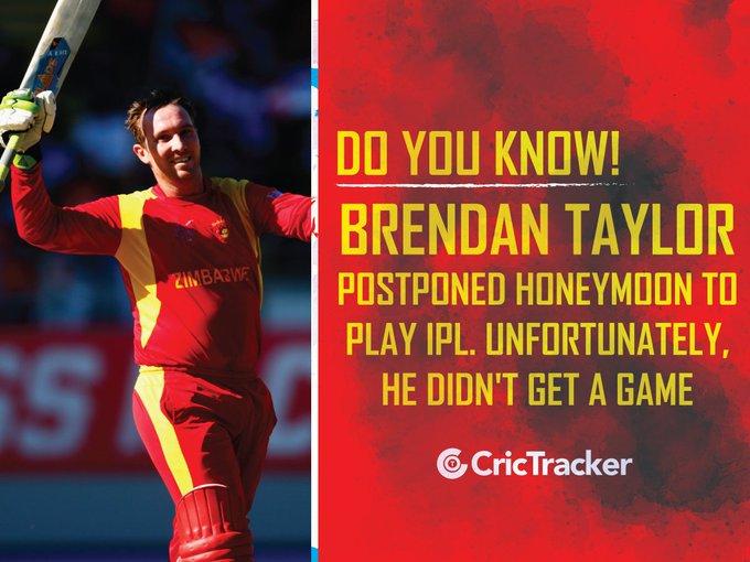 Happy Birthday to the Zimbabwean wicket-keeper Brendan Taylor!