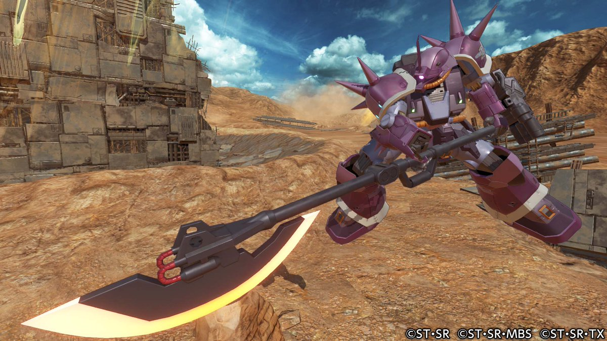 PS4『GUNDAM VERSUS』 (@GundamV...
