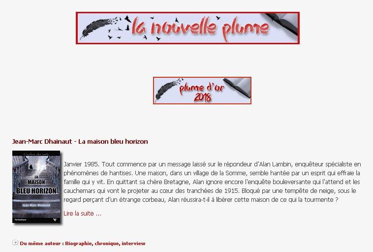 LA MAISON BLEU HORIZON de Jean-Marc Dhainaut DVWN7eNXcAA4ug9