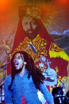 Happy birthday, Bob Marley (1945-1981). Who Jah bless, no one curse.