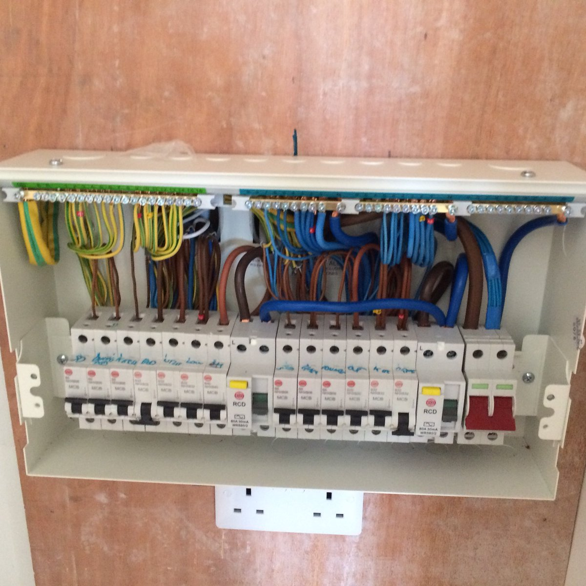 Wiring Diagram For Wylex Consumer Unit