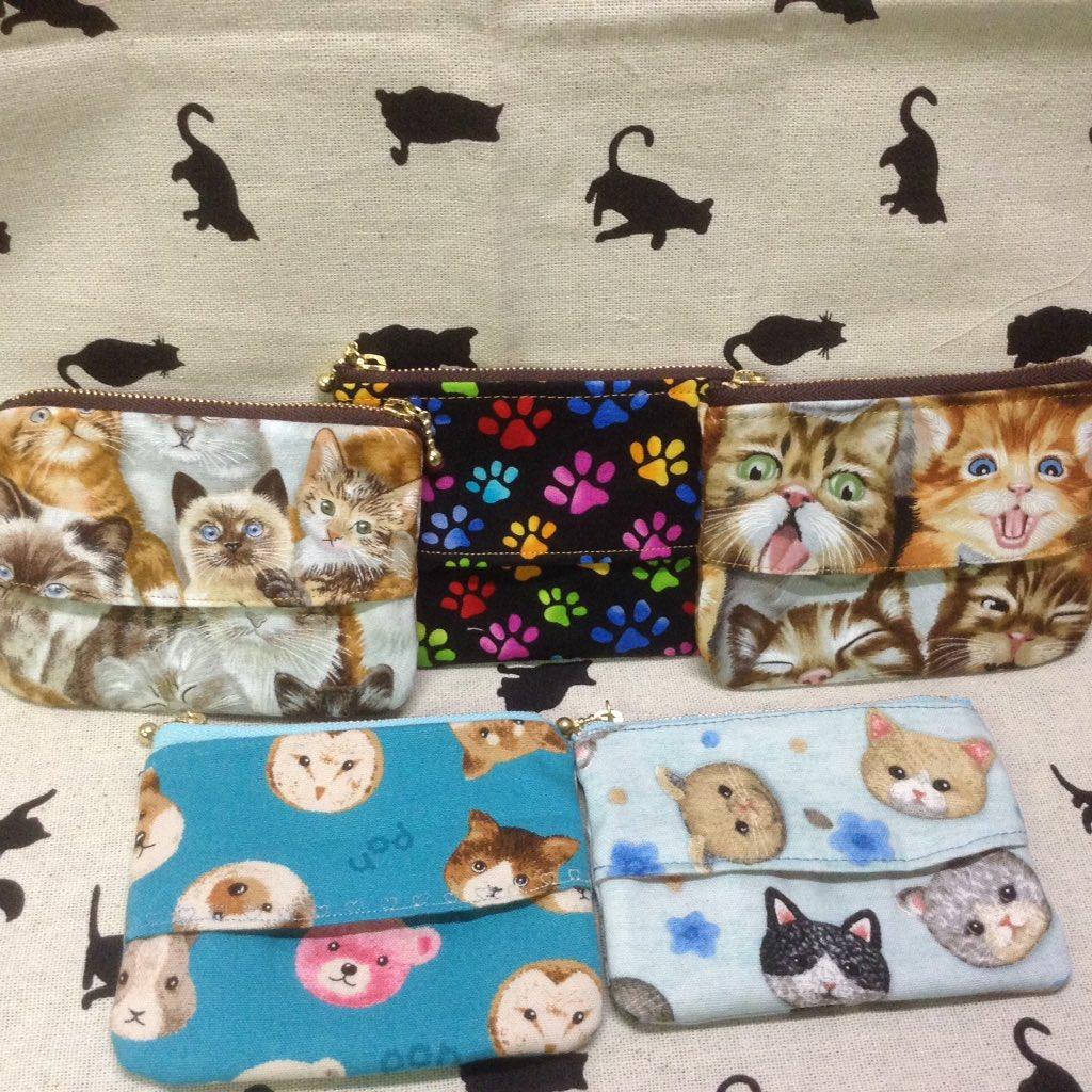 test ツイッターメディア - 東京国際キルトフェスティバルで購入した猫柄でティッシュケースポーチを作りました??  最近、猫にハマりまくり??  #セリア #猫柄 #東京国際キルトフェスティバル #ハンドメイド好きな人と繋がりたい https://t.co/1bcjLpow5L