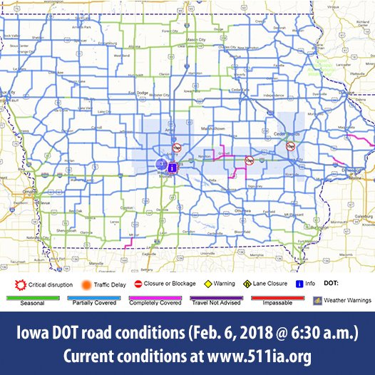 Iowa DOT on Twitter: